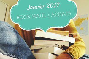 Book Haul de Janvier 2017
