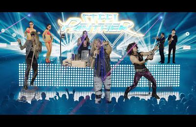 VIDEO - Nouveau clip des STEEL PANTHER Fuck Everybody