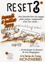RESET le samedi 5 juillet 2014 à la ferme du Camp de Montmerrei (61)