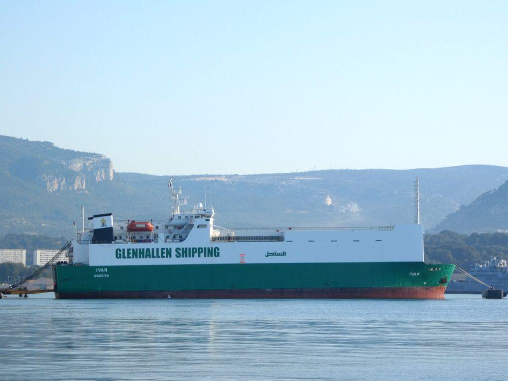 IVAN , a quai  a Toulon / Bregaillon le 19 avril 2021