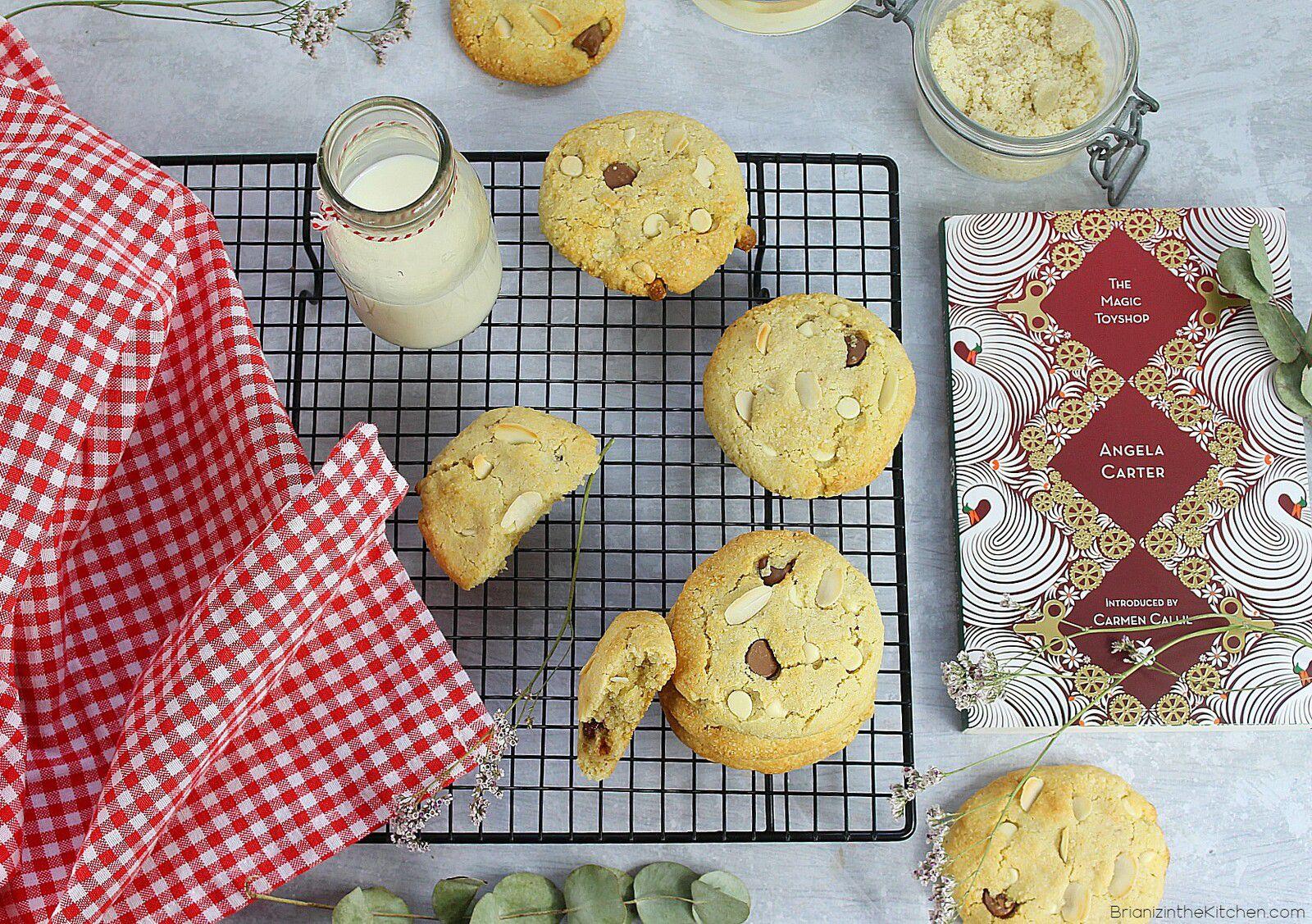 Biscuits Sablés Coco et Chocolat {Sans Beurre et Sans Farine}