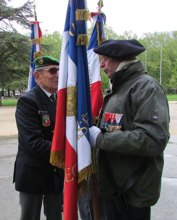 Cérémonie anniversaire de la bataille de Camérone
