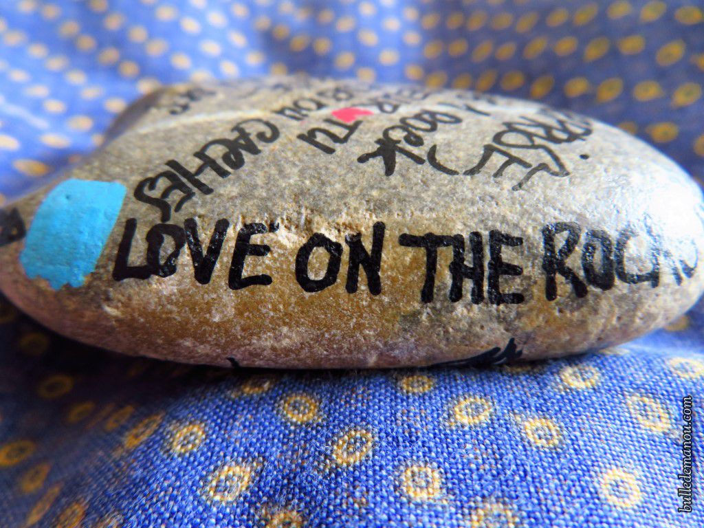 Love on the rock !