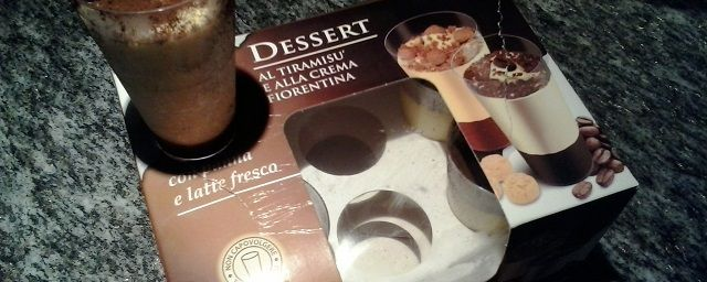 Dessert al tiramisu' e alla crema fiorentina (surgelati prodotti da Indian SRL e distribuiti da Esselunga)