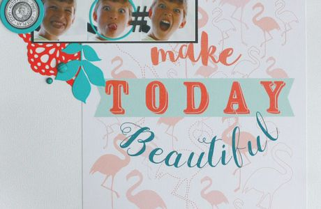 "page ""Make Today Beautiful"""