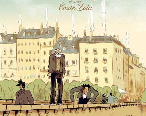 Jacques Damour - Vincent Henry, Gaël Henry et Emile Zola