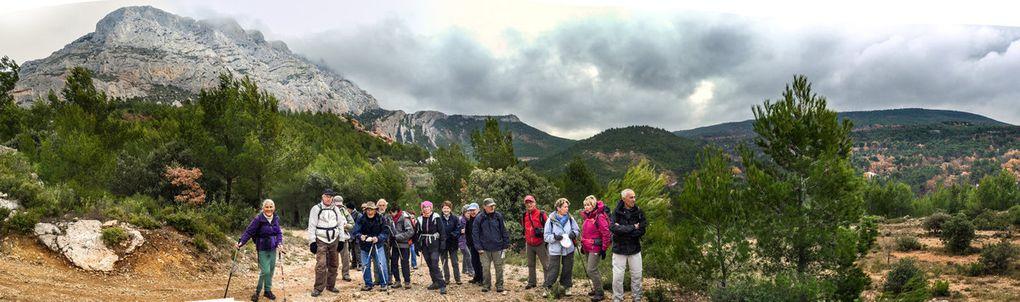 Du Tholonet, le Tour de Roquehautes..