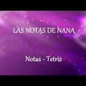 Notas de la Canción Tetris