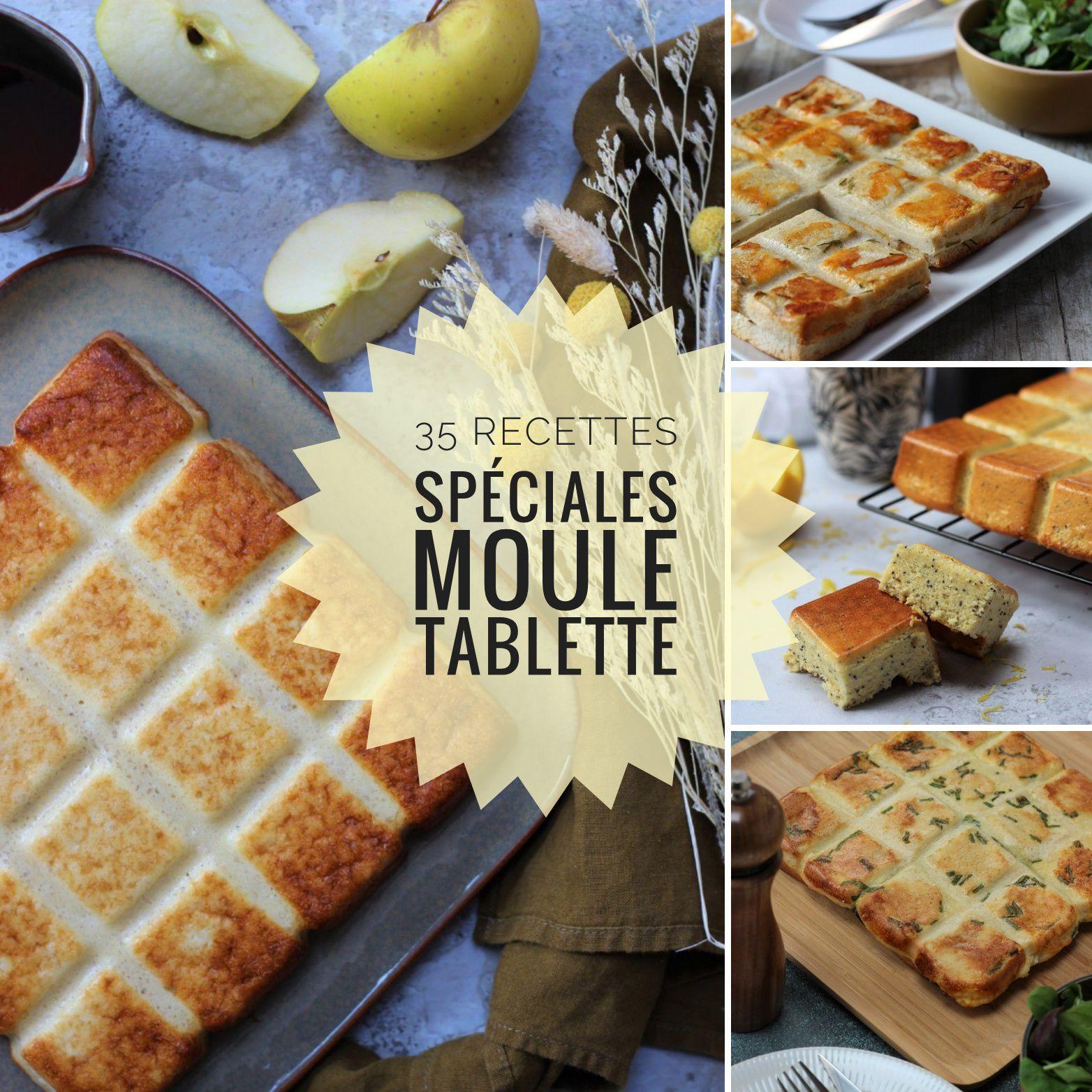 35 recettes moule tablette