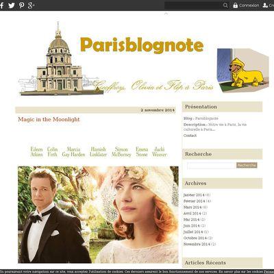 Parisblognote
