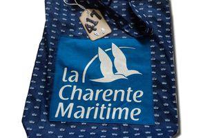 Sac Charente Maritime n° 417 à Tahiti...