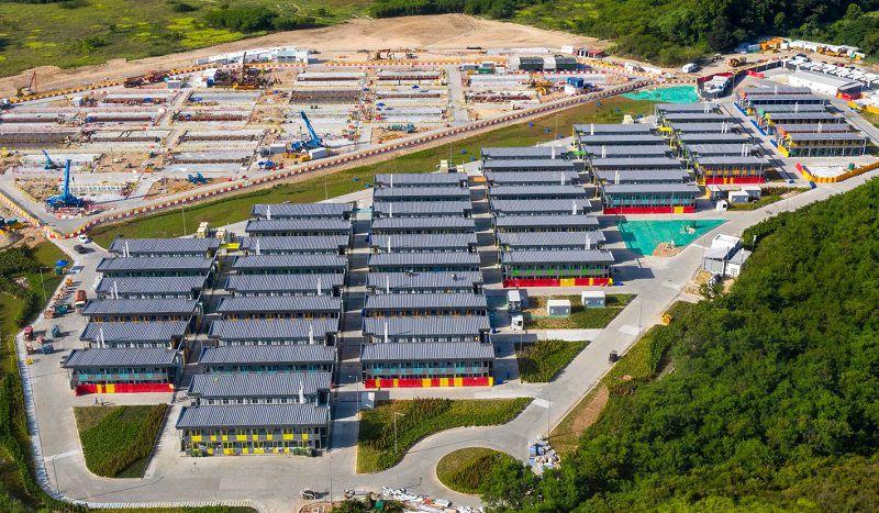Australie – Début de la construction du camp de quarantaine de Mickleham