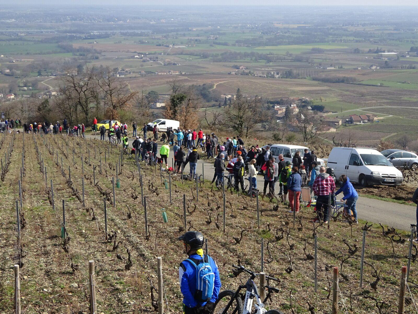 Sur la route de Paris Nice-Le Mont Brouilly  - Mercredi 10 mars 2021