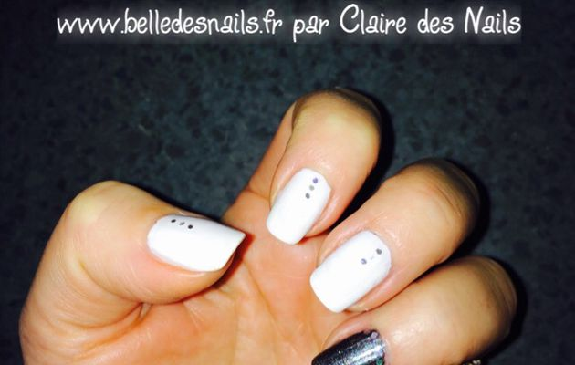 #nailart flackies #nail #nails #white #black #sephora #naildesign #nailartclub #nailmodele