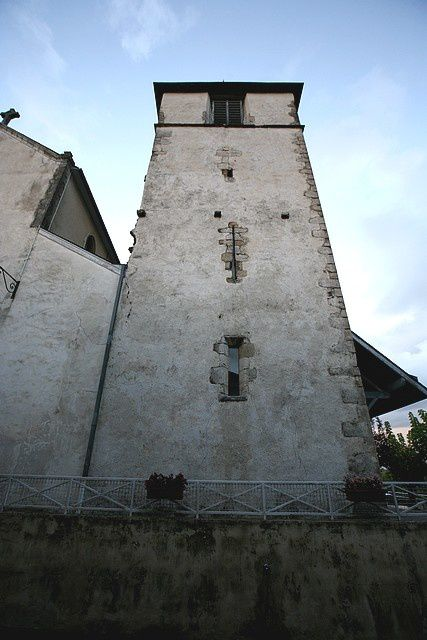 Diaporama église fortifiée d'Arthez de Béarn