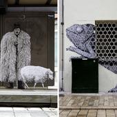 À Orléans, cet artiste joue avec la rue en intégrant des personnages insolites
