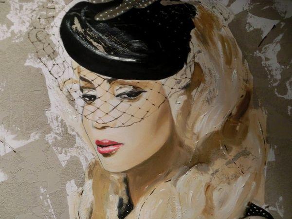 Peintures de femmes, Catherine Le Gall expose !!!
