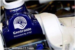 Williams soutient Centraide