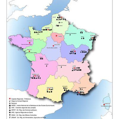 Fusion des régions : réorganisation de la carte administrative de France