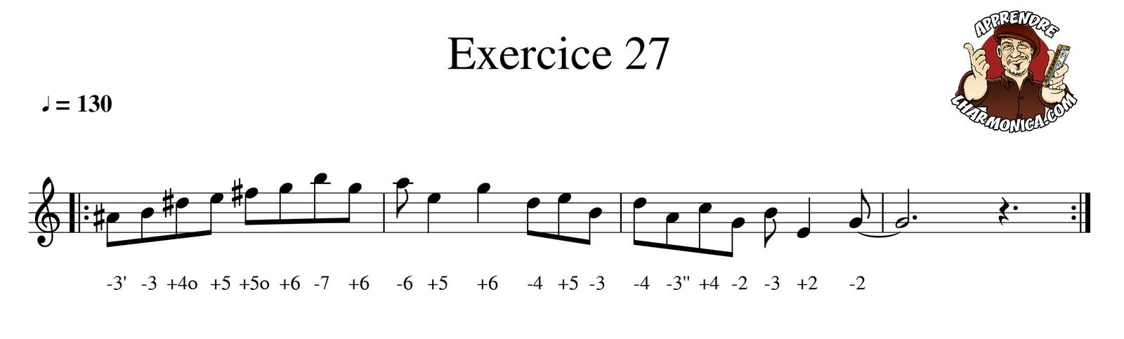 Exercice 27 - Harmonica C