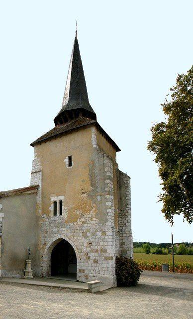Diaporama église fortifiée d'Eyres-Moncube