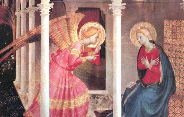 MISTERI GAUDIOSI (Lunedì e Sabato) - 1° mistero gaudioso: L'Annunciazione dell'Angelo a Maria Vergine