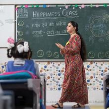 """Des 'cours de bonheur"""" pour les écoliers indiens..."""