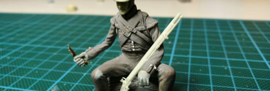 18150.. Soldat du 71 ème Régiment d'infanterie légère britannique (Ecossais)