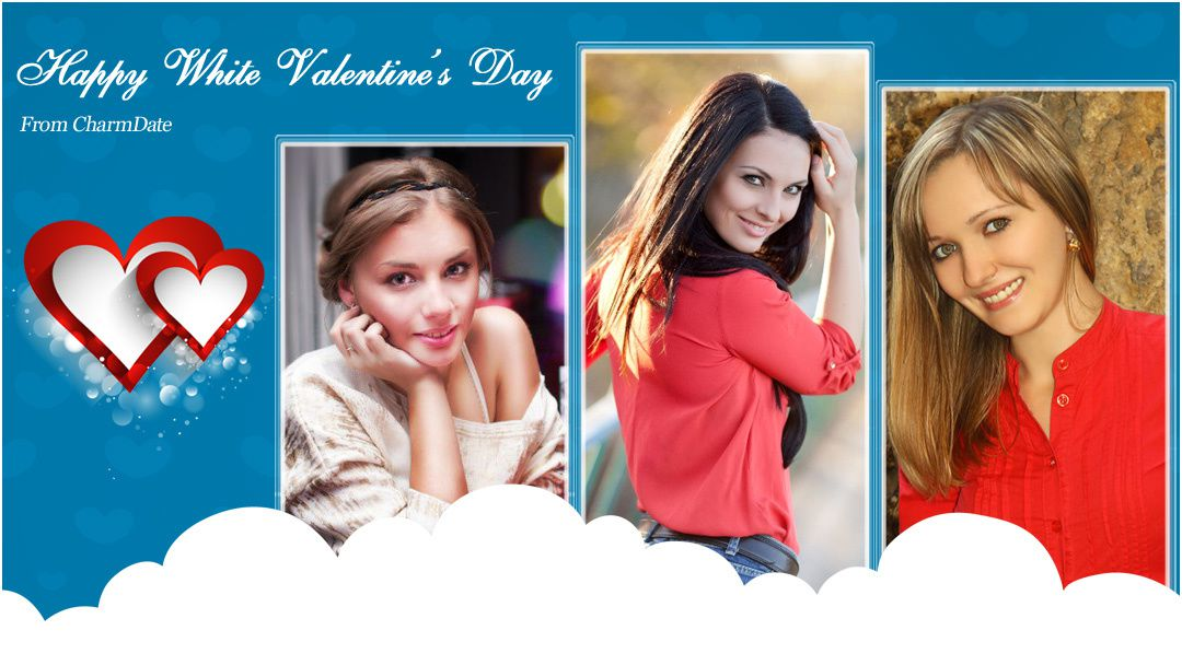 Happy White Valentine From CharmingDate.com