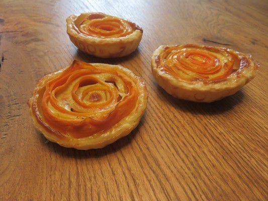 tartelettes carottes et gorgonzola