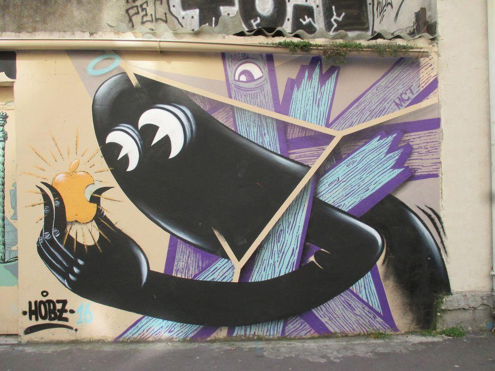 Hobz - Paris 20e - Rue des Pyrénées