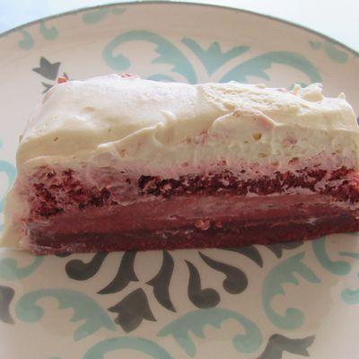 Red velvet cake magique