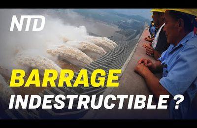 Trois-Gorges: Risques d'effondrement du barrage