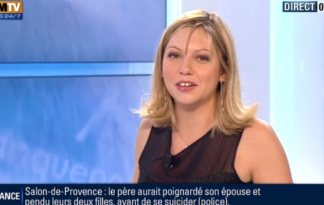 2012 12 18 - CAROLE COATSALIOU - BFM TV - PREMIERE EDITION 'SPORTS' @07H15