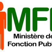 MINISTERE DE LA FONCTION PUBLIQUE ET DE LA MODERNISATION DE L'ADMINISTRATION