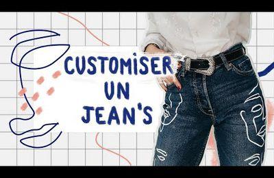 comment customiser un d jeans