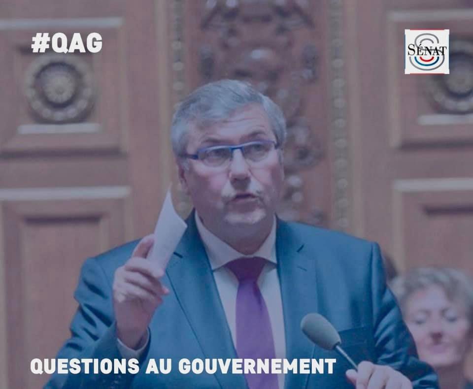 Le sénateur Rémy Pointereau est intervenu à propos du SMUR de Bourges