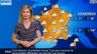 2013 03 30 - SANDRA LARUE - BFM TV - LA METEO @22H51