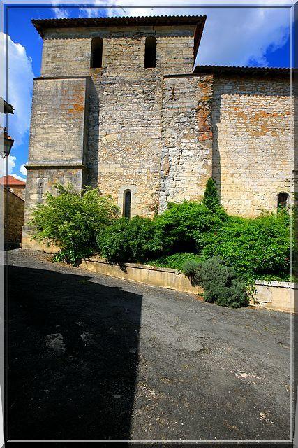 Diaporama église fortifiée de La Chapelle Gonaguet