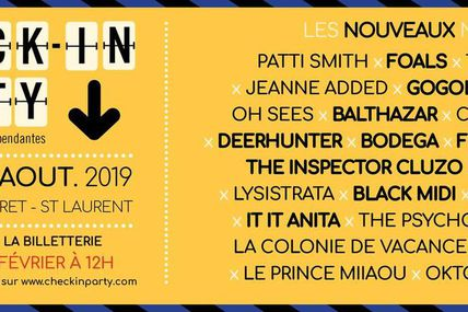 [FESTIVAL] CHECK IN PARTY (Guéret) du 22 au 24 août
