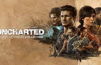 Uncharted: Legacy of Thieves Collection arrive début 2022 sur PS5 et PC
