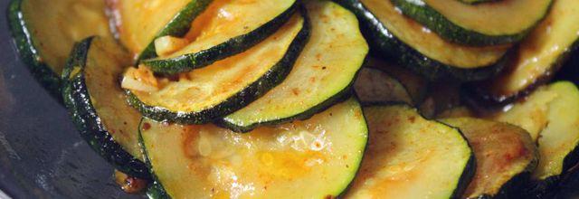 Courgettes Sautées au 4 épices !