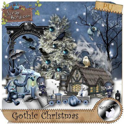 Gothic Christmas de Kittyscrap