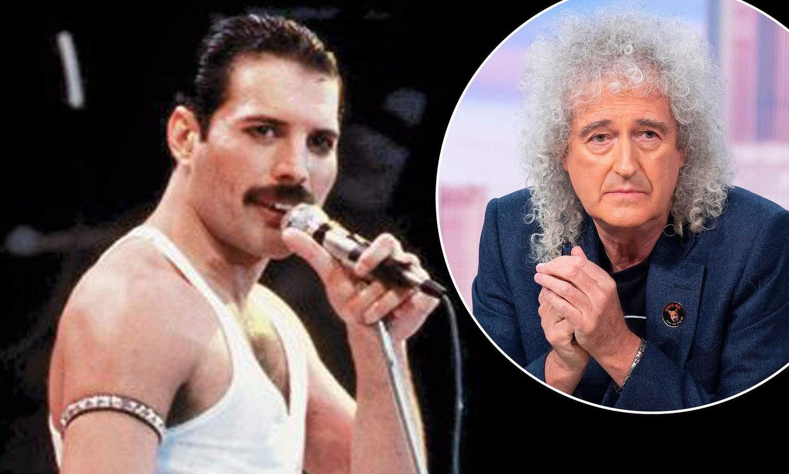 'He had massive insecurities': Brian May reflects on late Freddie Mercury's 'very private side' as he marks Queen's 50th anniversary