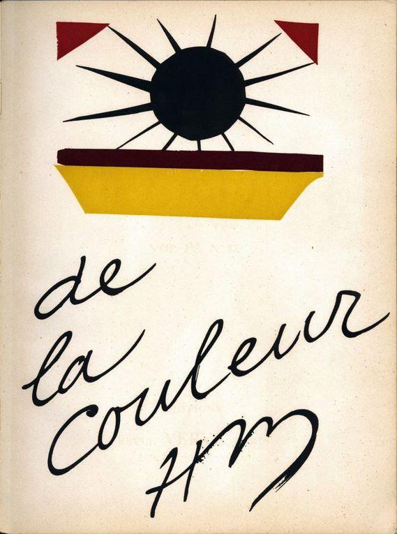 """Revue Verve """"De La Couleur"""" 1945"""