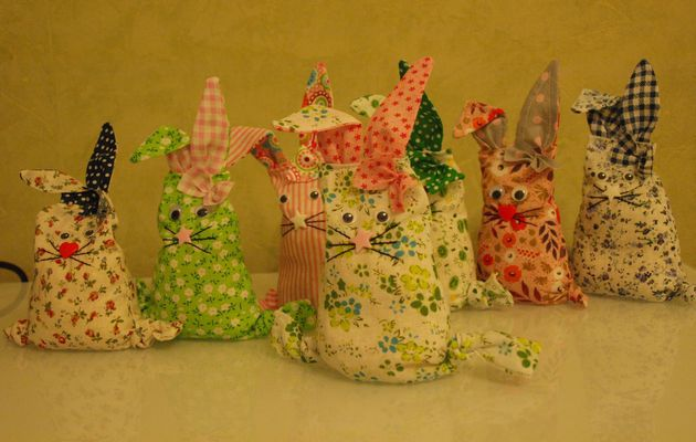 Les 7 petits lapins ... de Pâques
