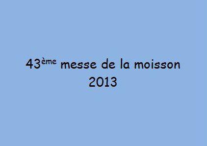 Album - Messes de la moisson
