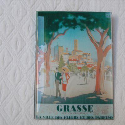 """BROCHE """" GRASSE """""""