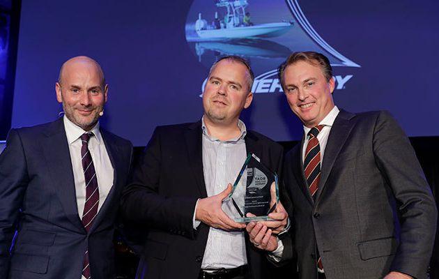 Mercury Marine awarded 2017 METSTRADE Boat Builder Award