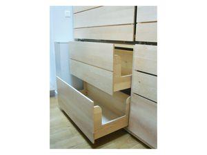 placard avec tiroirs et portes coulissantes